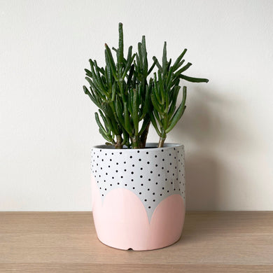 Peach Poppy Seed Planter - $45