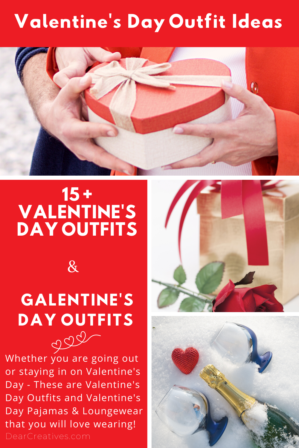 Are you staying in or going out on a date for Valentine's? Or celebrating Galentine's Day with your close inner circle of gal pals? Like most of us, we might be celebrating Valentine's Day remotely… We are sharing where you can get cute outfits and...