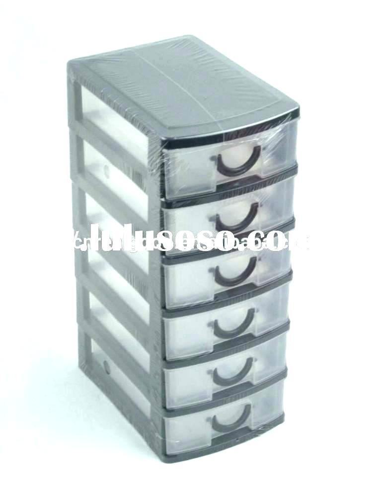 Modern Plastic Storage Drawers For Clothes