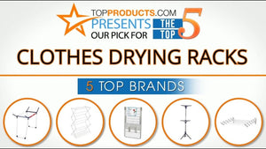 Our trained experts have spent hours researching the best Clothes Drying Racks available on the market