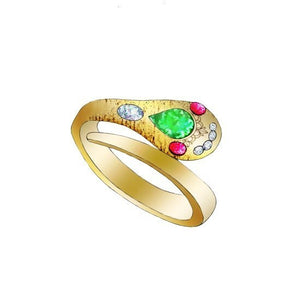 Gratifying Queen Wedding Ring