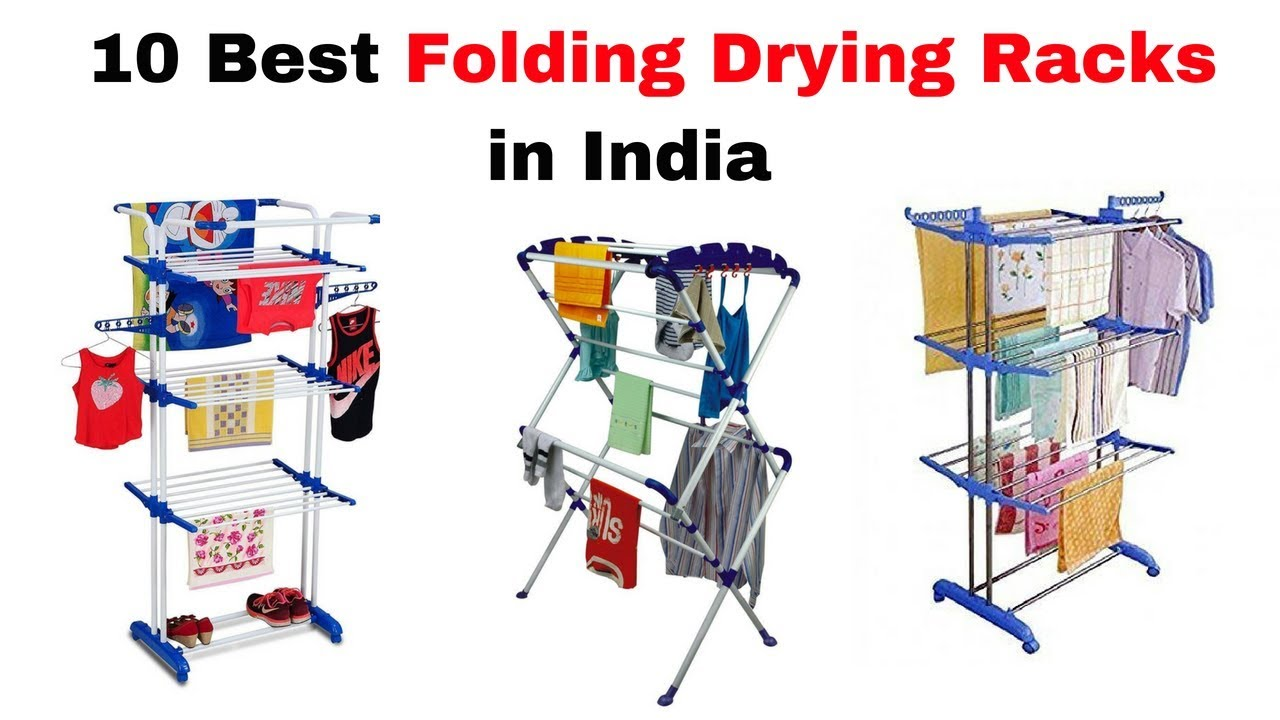 10 Best Folding Clothes Drying Racks in India with Price 2018 I Best Cloth Drying Stands in India 1