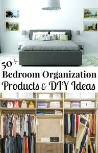There are so many bedroom organization products available these days