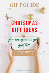 If you are looking for gifts for the family this post will help you! We are sharing where to get the best gifts for everyone on your list with this gift guide!