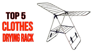 Top 5 Best Clothes Drying Rack for Home 2018 Here are the products list: 1