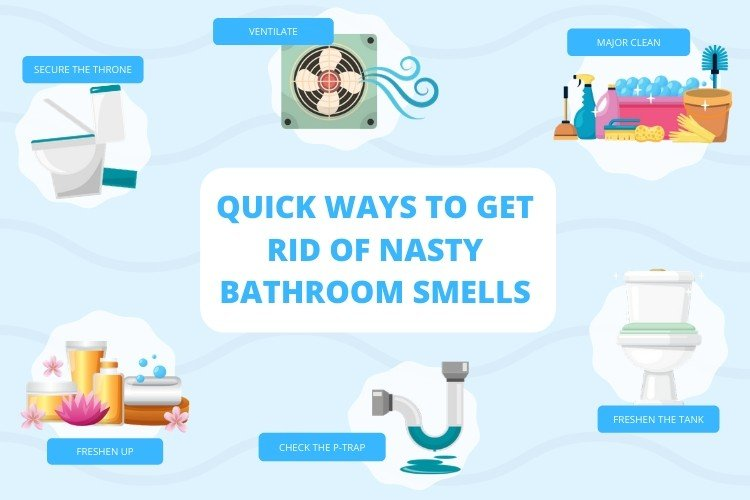 7 Quick Ways to Get Rid of Nasty Bathroom Smells