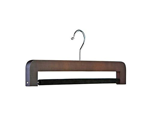 Butler Luxury Original Trouser Hanger - Dark Matte Walnut Espresso