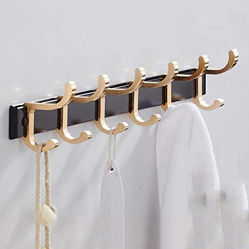 LE Bathroom Hook,Strong Adhesive Free Punch Hanger Hanger Wall Hook Bathroom Hook Behind The Door Hook F
