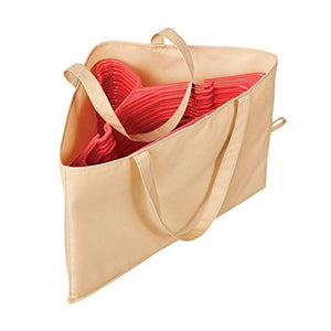 Collections Etc Hanger Storage Bag with Handles for Space Saving and Easier Storage in Closets