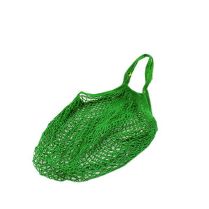 Mesh Shoulder Handbag,Womens Fashion Reusable Cotton Net Fruit Shopping Bag 3238cm (Green)