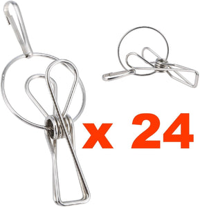 Hanger Clips - Laundry Clothes Pins