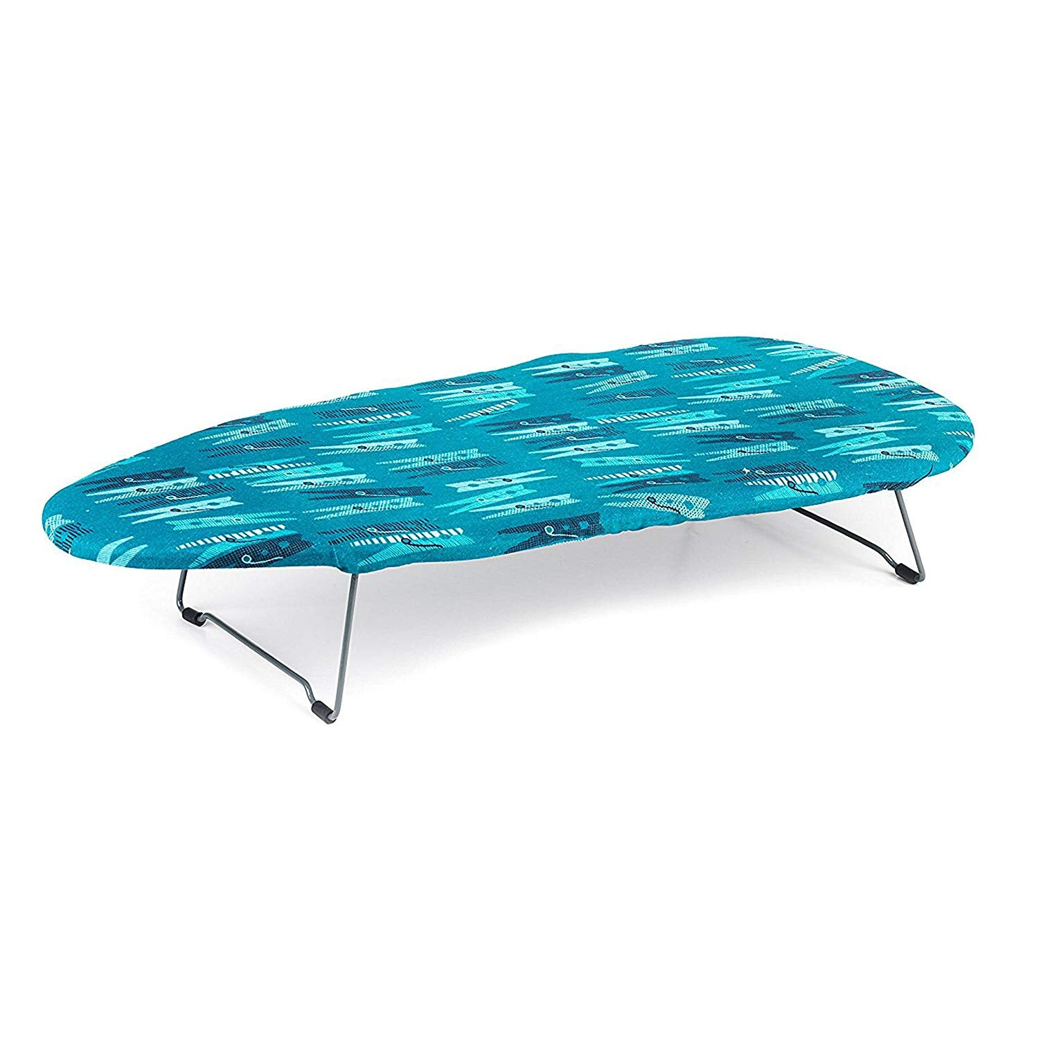 Beldray LA023735PEG Table Top Ironing Board, 76 x 33 cm, Peg Print