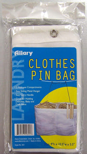 Allary Clothes Pin Bag, Perfect Clothes Line Accessory