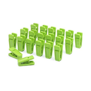 20PCS Heavy Duty Clothes Pegs Plastic Hangers Racks Clothespins Laundry Clothes Pins Hanging Pegs Clips