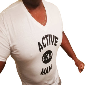 Active Curve Man V Neck Shirt