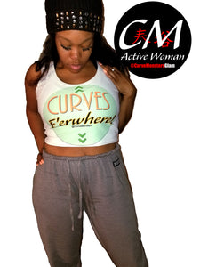 CM Glam 'Curves E'erwhere' Crop Top - 15% Off 'Buy 1 Post 1' Sale