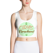 Load image into Gallery viewer, CM Glam 'Curves E'erwhere' Crop Top - New Spring Break Pricing!