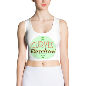 CM Glam 'Curves E'erwhere' Crop Top - New Spring Break Pricing!