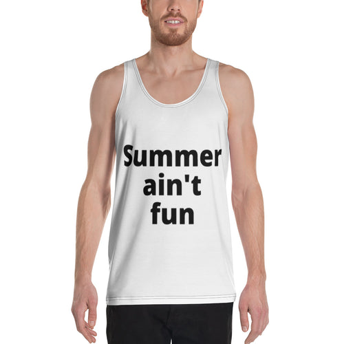 Summer Curves Unisex Tank Top