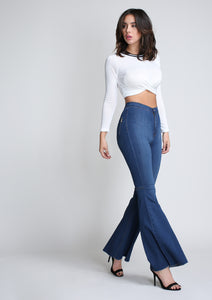 Vibrant Flare Jeans