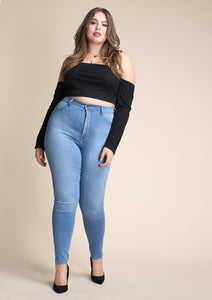 PLUS Maisie High Waisted Skinny
