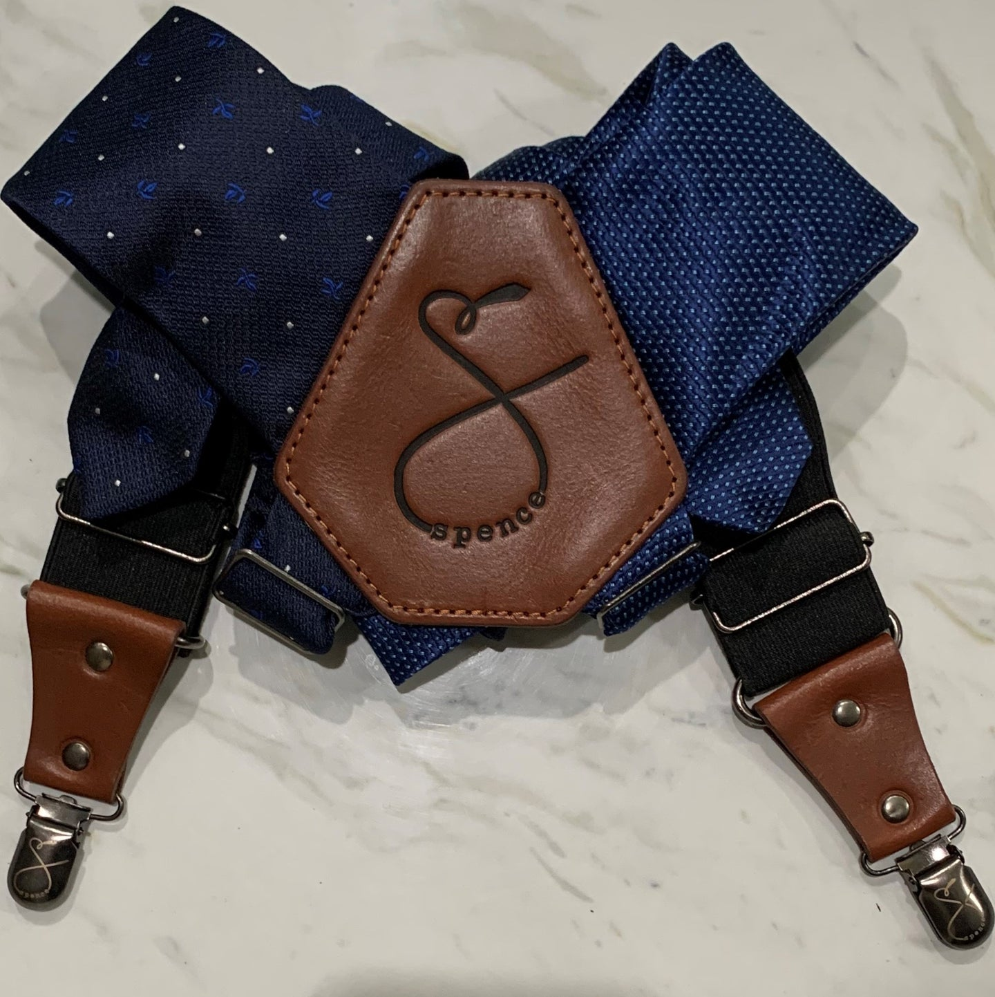 s p e n c e - navy blue and navy blue