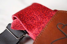 Load image into Gallery viewer, s p e n c e - Red and Brown Paisley
