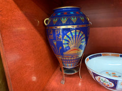 The Franklin mint Egyptian vase