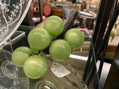 Mid century modern green grape cluster