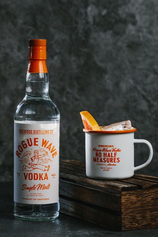 Rogue Wave Vodka con Tazza Omaggio