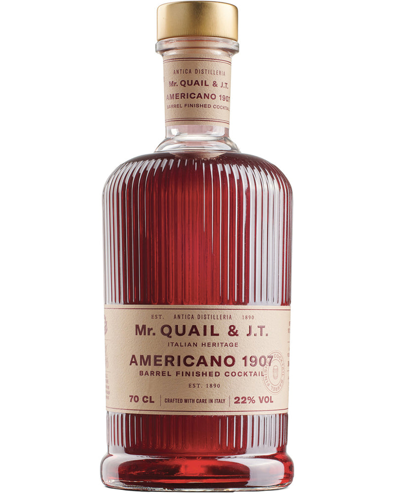Americano Cocktail 1907 by Mr. Quail & J.T.
