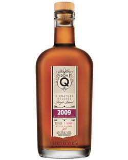 DonQ 2009 Single Batch Rum