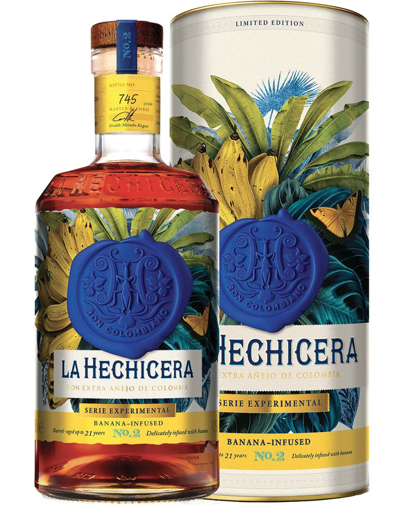 Edition Limitada no.2 Banana infused Rum  - La Hechicera (0,70l)