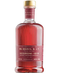 Negroni Cocktail 1919 by Mr. Quail & J.T.