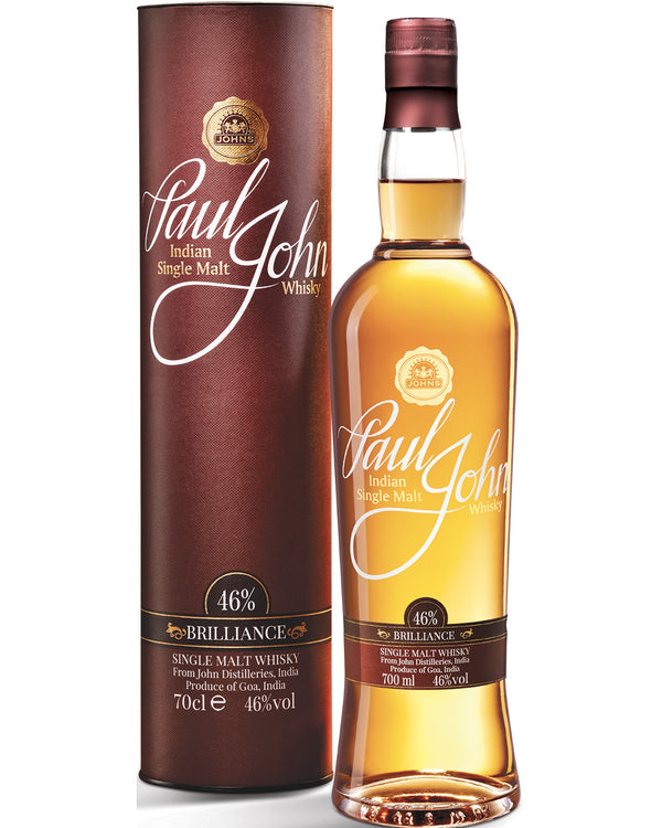 Paul John Brillance Single Malt Indian Whisky