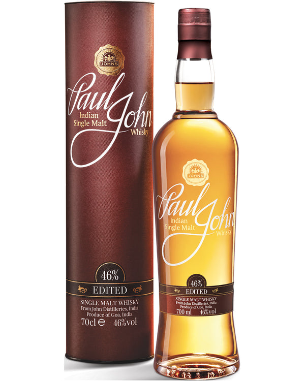 Paul John Edited Single Malt Indian Whisky