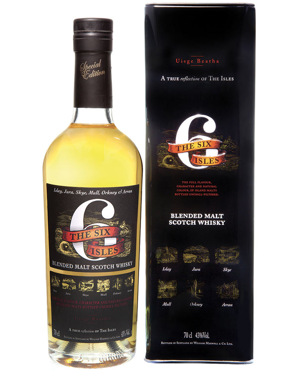 The Six Isles Malt Scotch Whisky