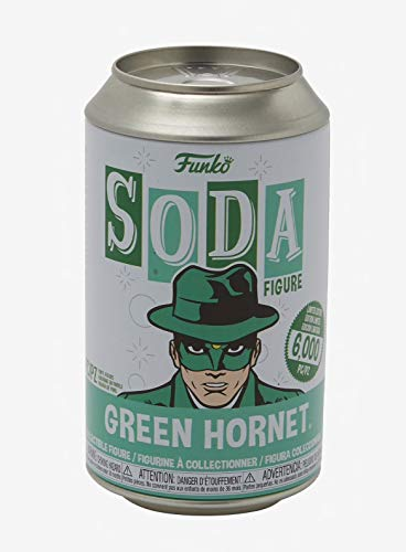 Funko Soda Figure: Green Hornet® Collectible Vinyl (Styles May Vary) #45960