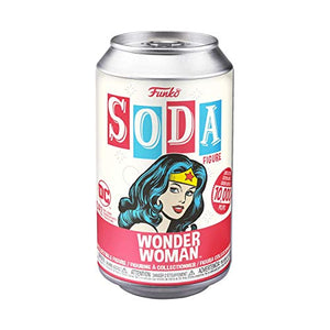 Funko 45964 Vinyl Soda: DC - Wonder Woman w/Chase Collectible Toy, Multicolour