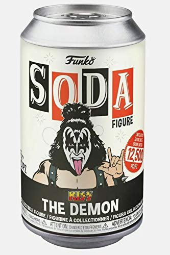 Funko 50835 Vinyl Soda: KISS - The Demon w/(GW) Chase Collectible Toy, Multicolour
