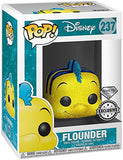Arielle die Meerjungfrau The Little Mermaid Flounder (Diamond Collection) Vinyl Figure 237 Funko Pop! Standard