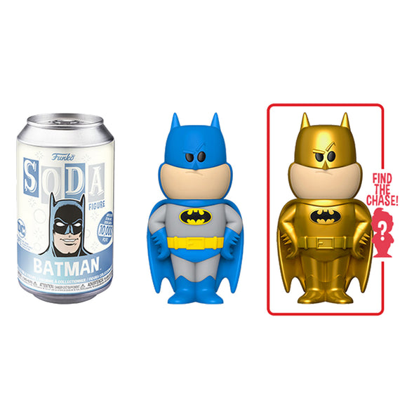 Funko Vinyl Soda: DC - Batman (with 1 in 6 chance of gold chase)