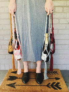 Live Virtual Macrame Wine Tote Workshop- 9/20