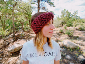 Top Knot Headband - Likewoah Handmade