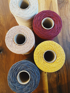 4mm Soft Cotton Macrame Cord- Jumbo Roll - Likewoah Handmade