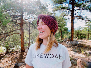 Crochet Top Knot Headband Pattern - Likewoah Handmade