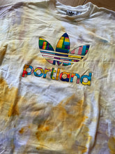 Load image into Gallery viewer, Mens Adidas Portland Vintage Ice Dye T-shirt