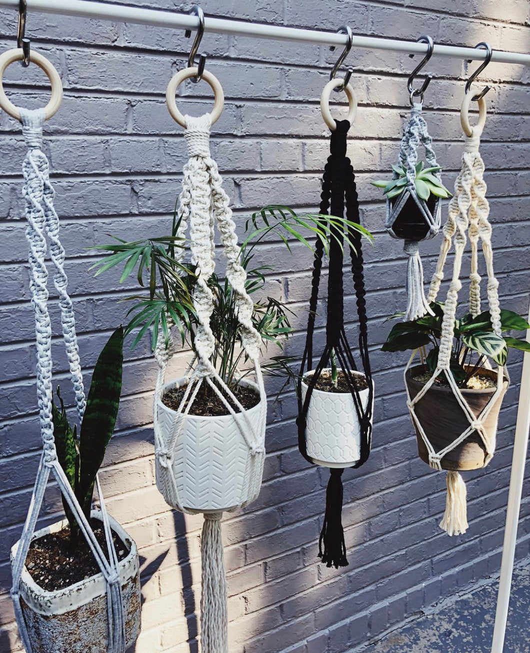 Macrame Plant Hanger Workshop 6/27- Fairplay, Colorado - Likewoah Handmade