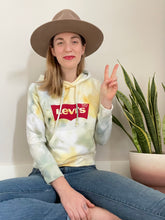 Load image into Gallery viewer, Vintage Levis Ice Dye Hoodie
