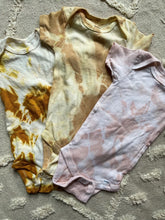 Load image into Gallery viewer, Natural Dye Baby Onesies